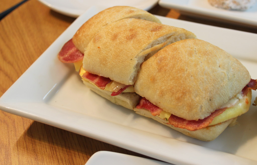 Turkey Bacon Egg Cheese Ciabatta