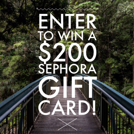 $200 Sephora Gift Card Giveaway – Open Worldwide