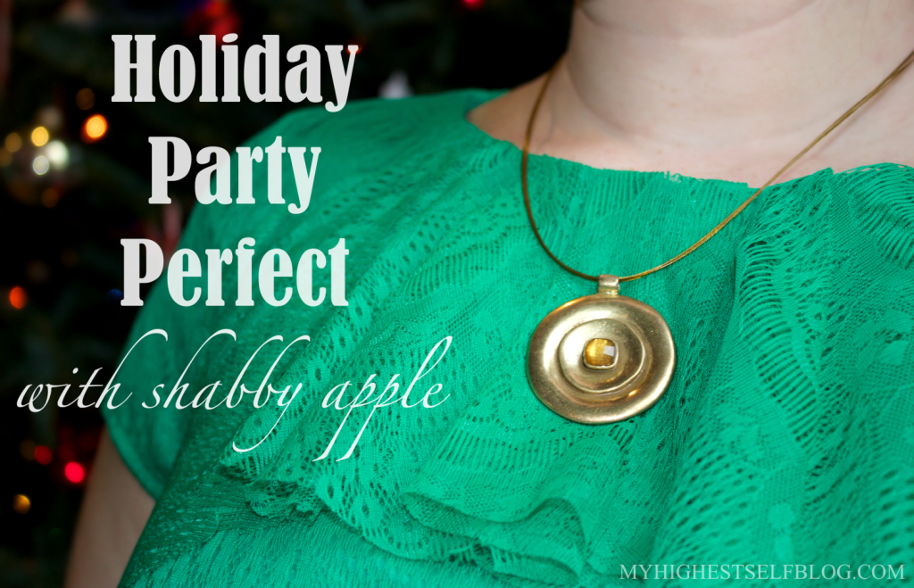 Get Holiday Party Perfect with Shabby Apple