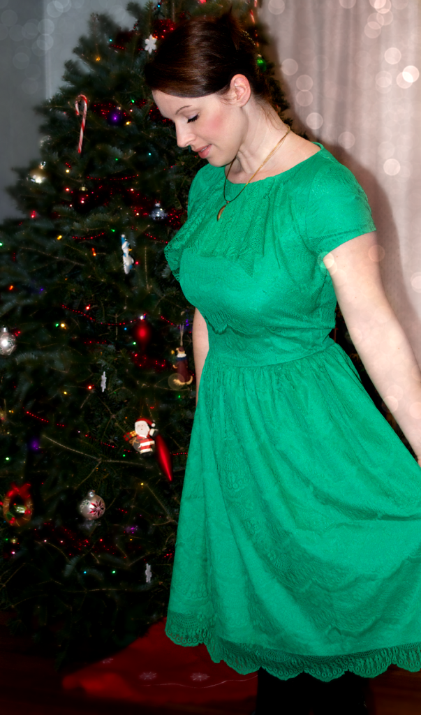 Gramercy Green Dress from Shabby Apple