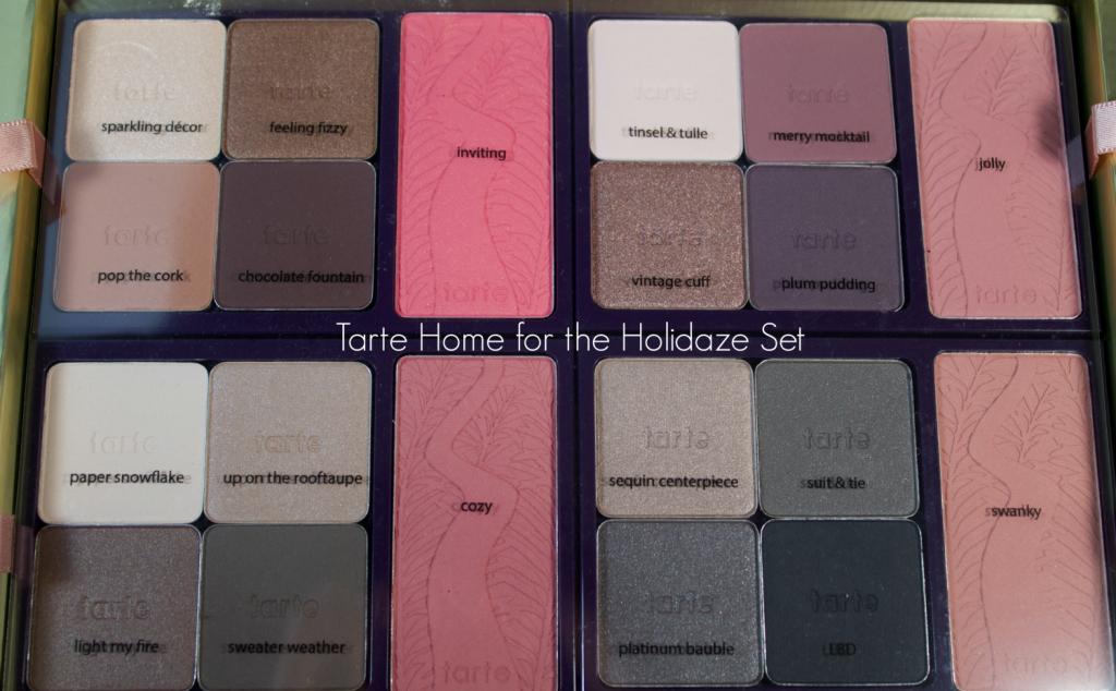 tarte Home for the Holidays Eyeshadows