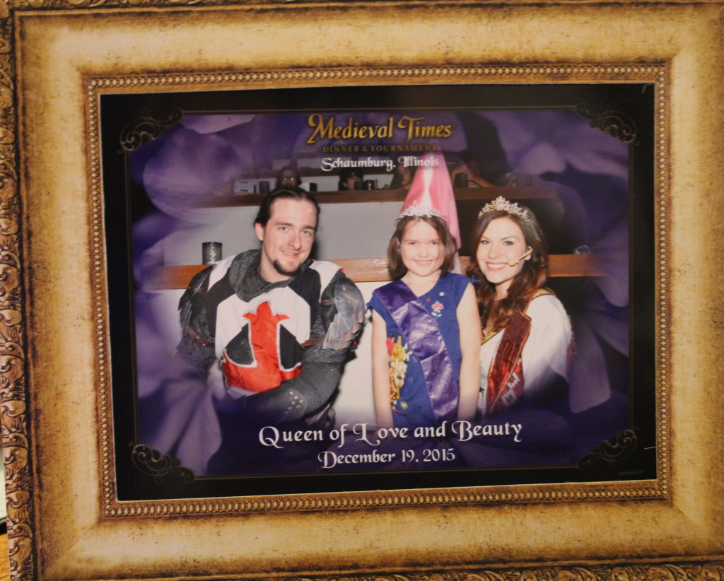 Medieval Times Queen of Love and Beauty
