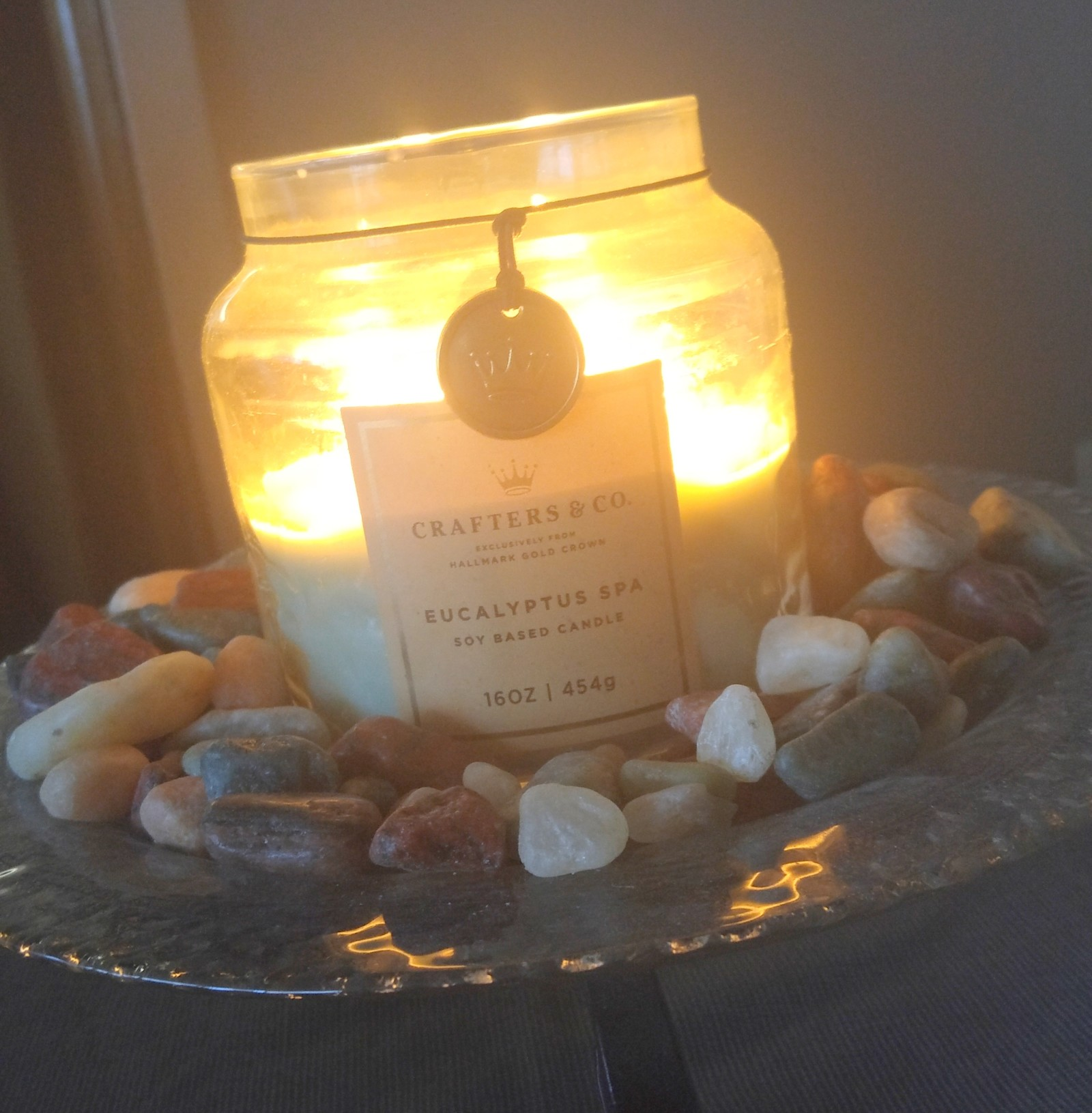 Crafters & Co. Eucalyptus Spa Candle from Hallmark Gold Crown