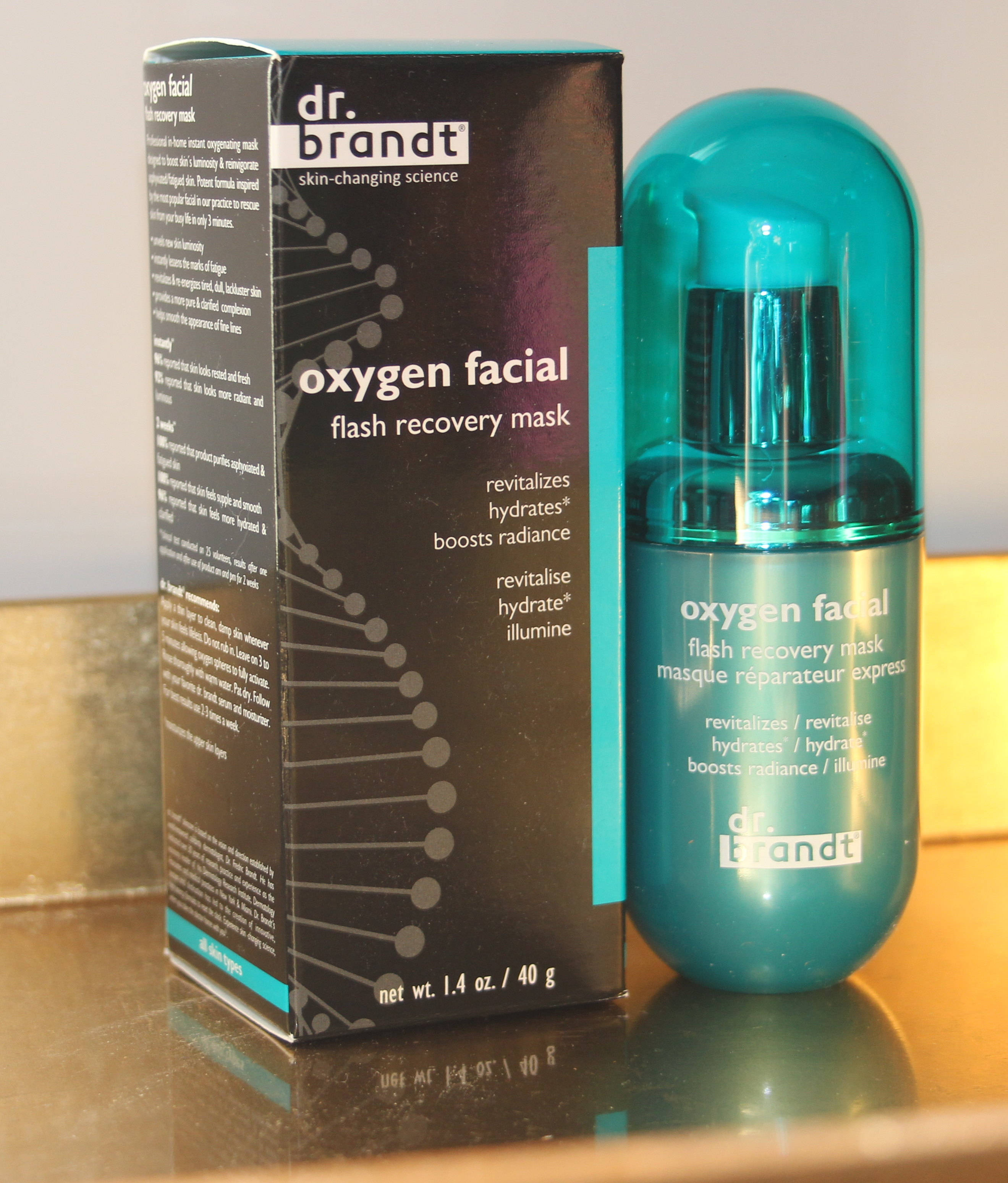 Review of dr. brandt Oxygen Facial