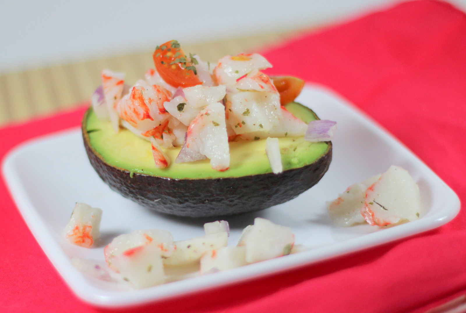 Easy No-Mayo Crab Salad