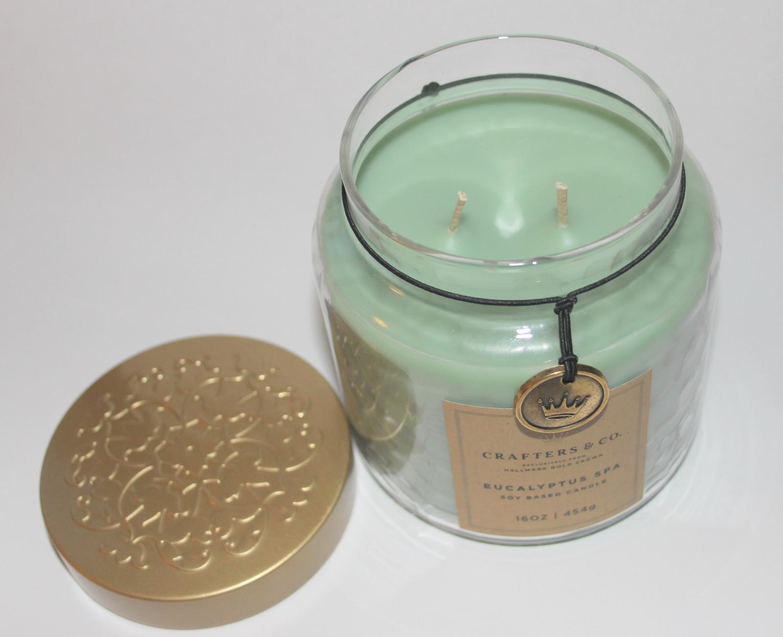 Eucalyptus Spa Soy Candle Hallmark