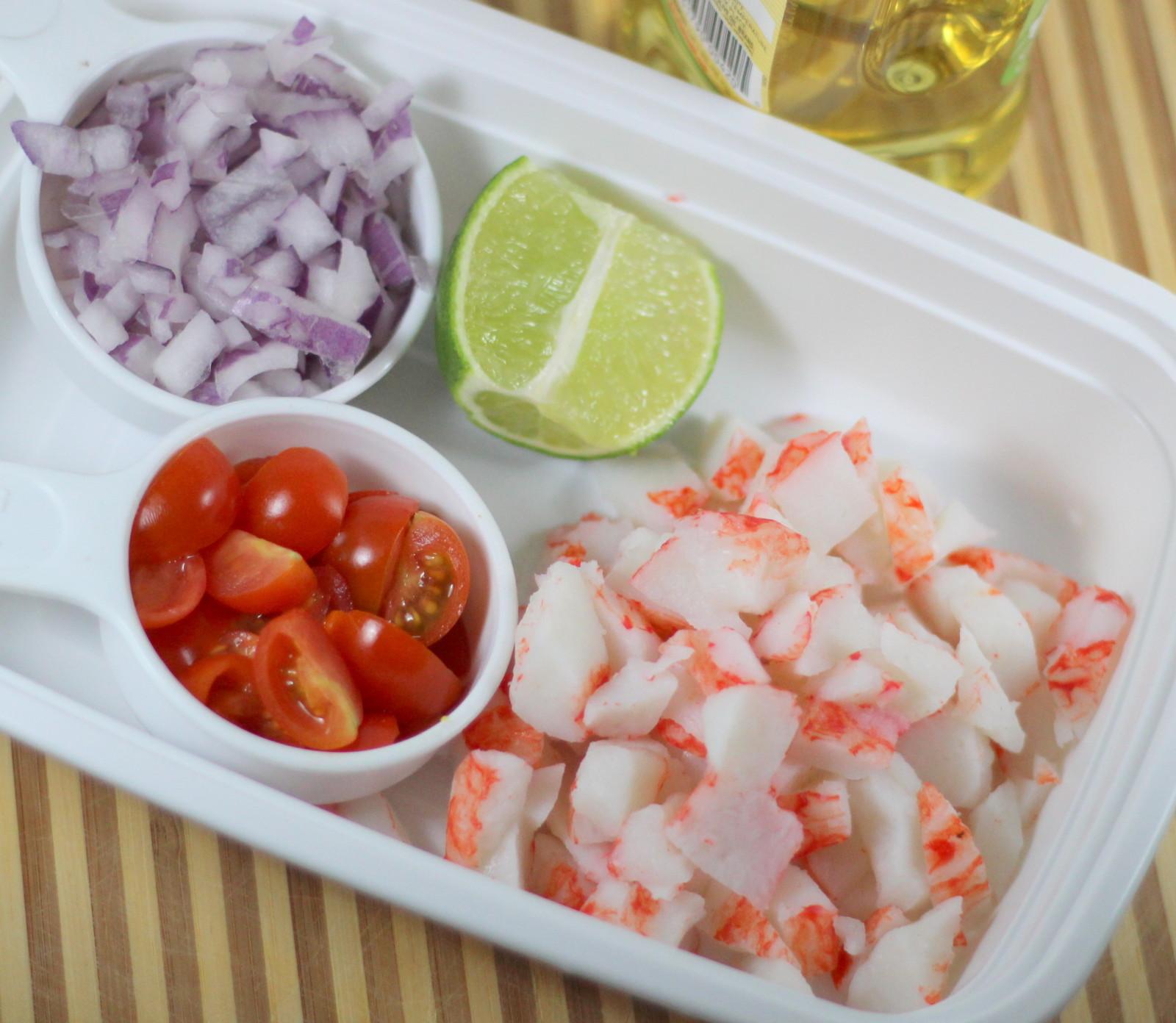 Easy to Make No Mayo Crab Salad