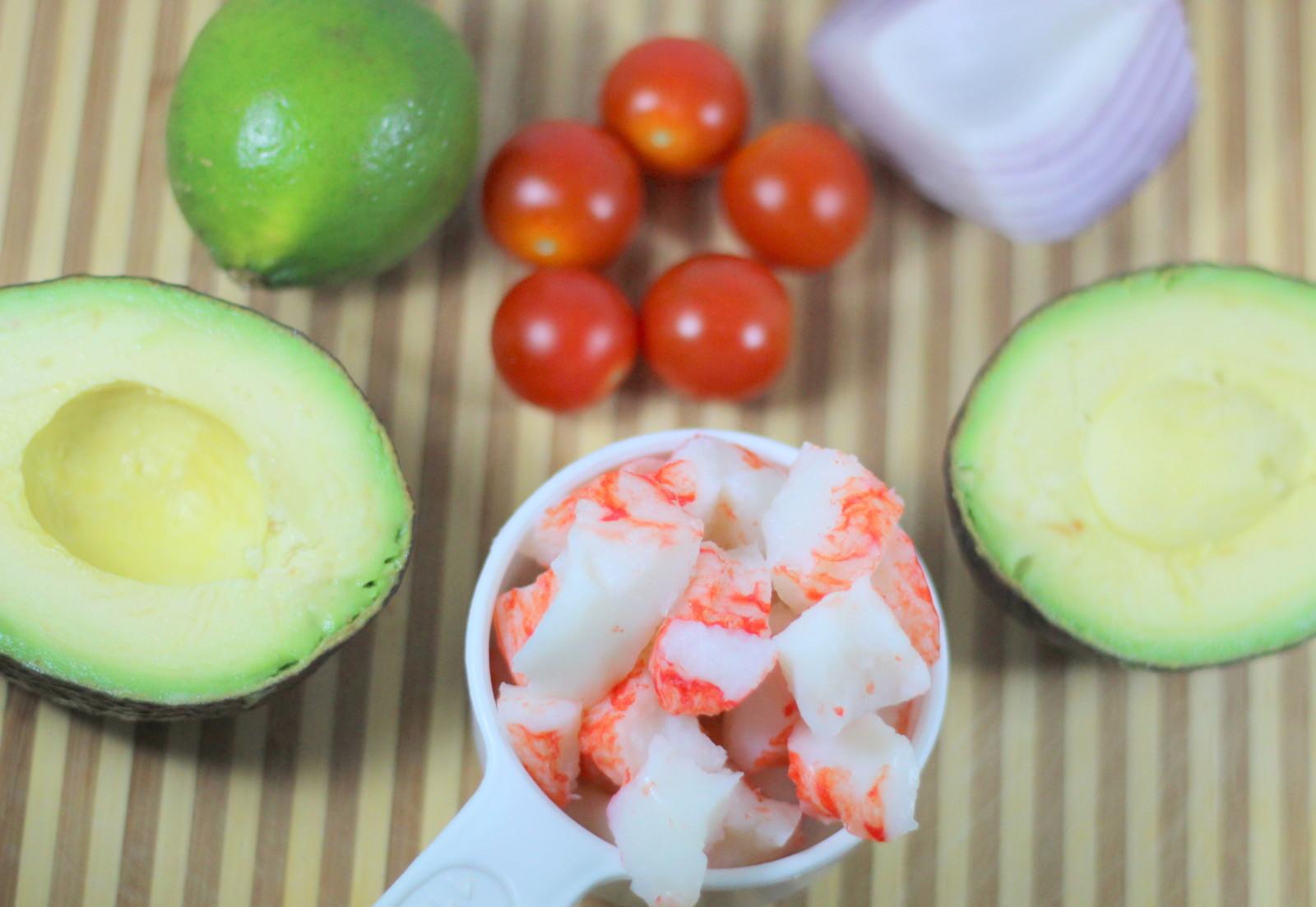 Quick Crab Salad Ingredients