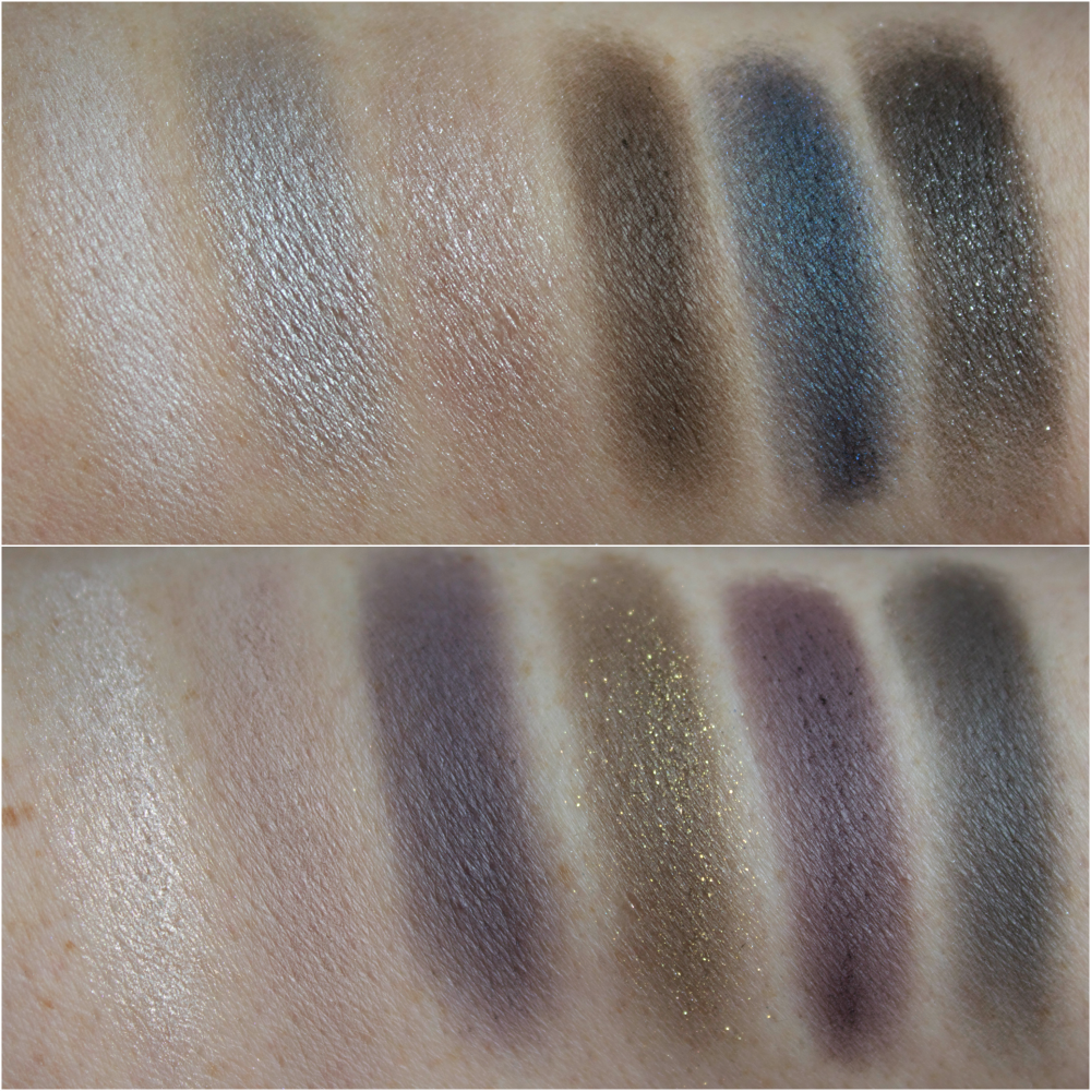 Rock Nudes Maybelline Swatches Review Eye Look