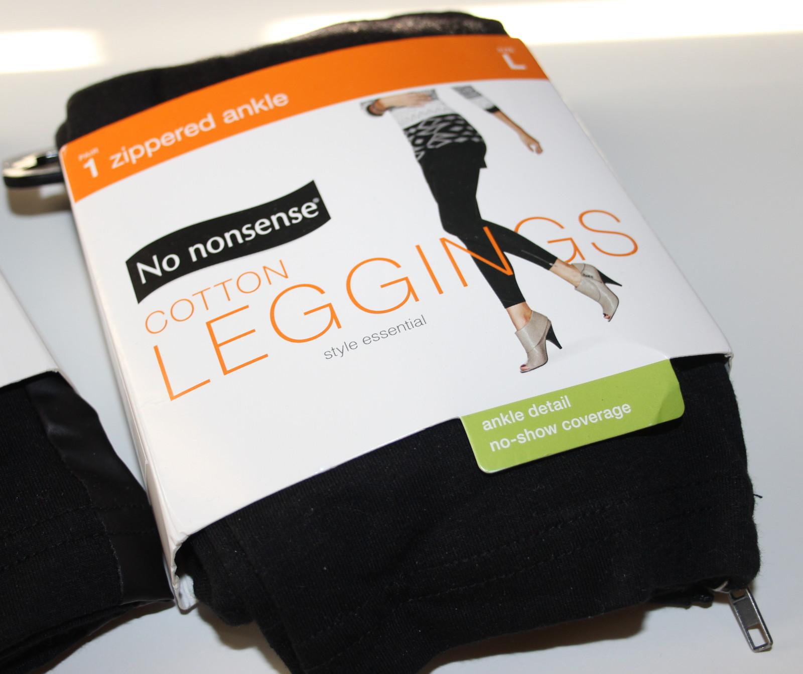 No nonsense Zipper Ankle Leggings