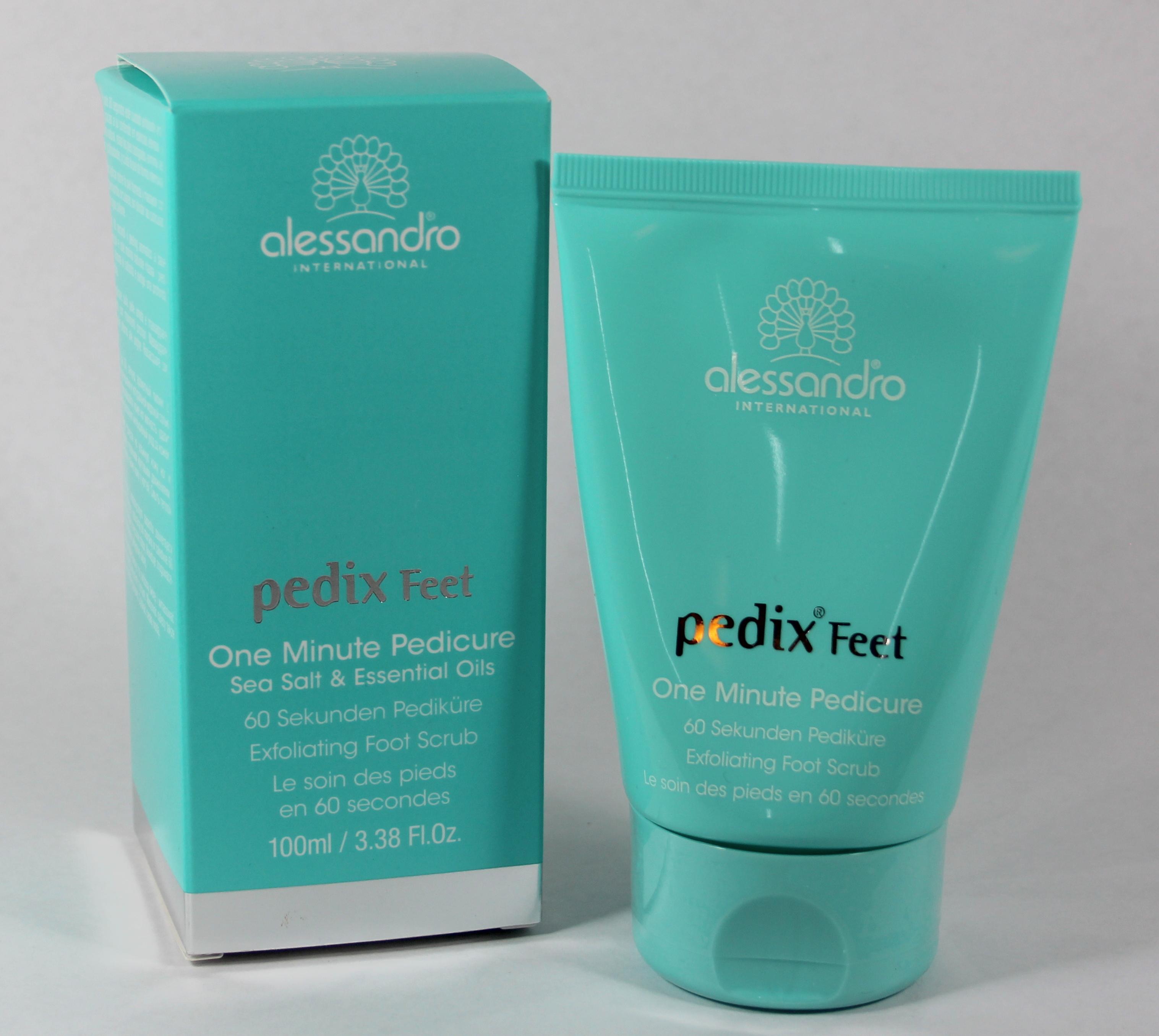 Pedix Feet One Minute Pedicure Exfoliating Foot Scrub