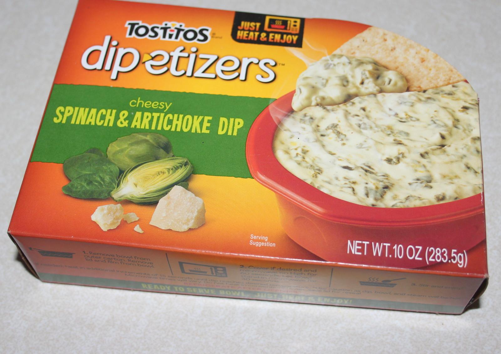 TOSTITOS® DIP-ETIZERS™ Cheesy Spinach & Artichoke Dip