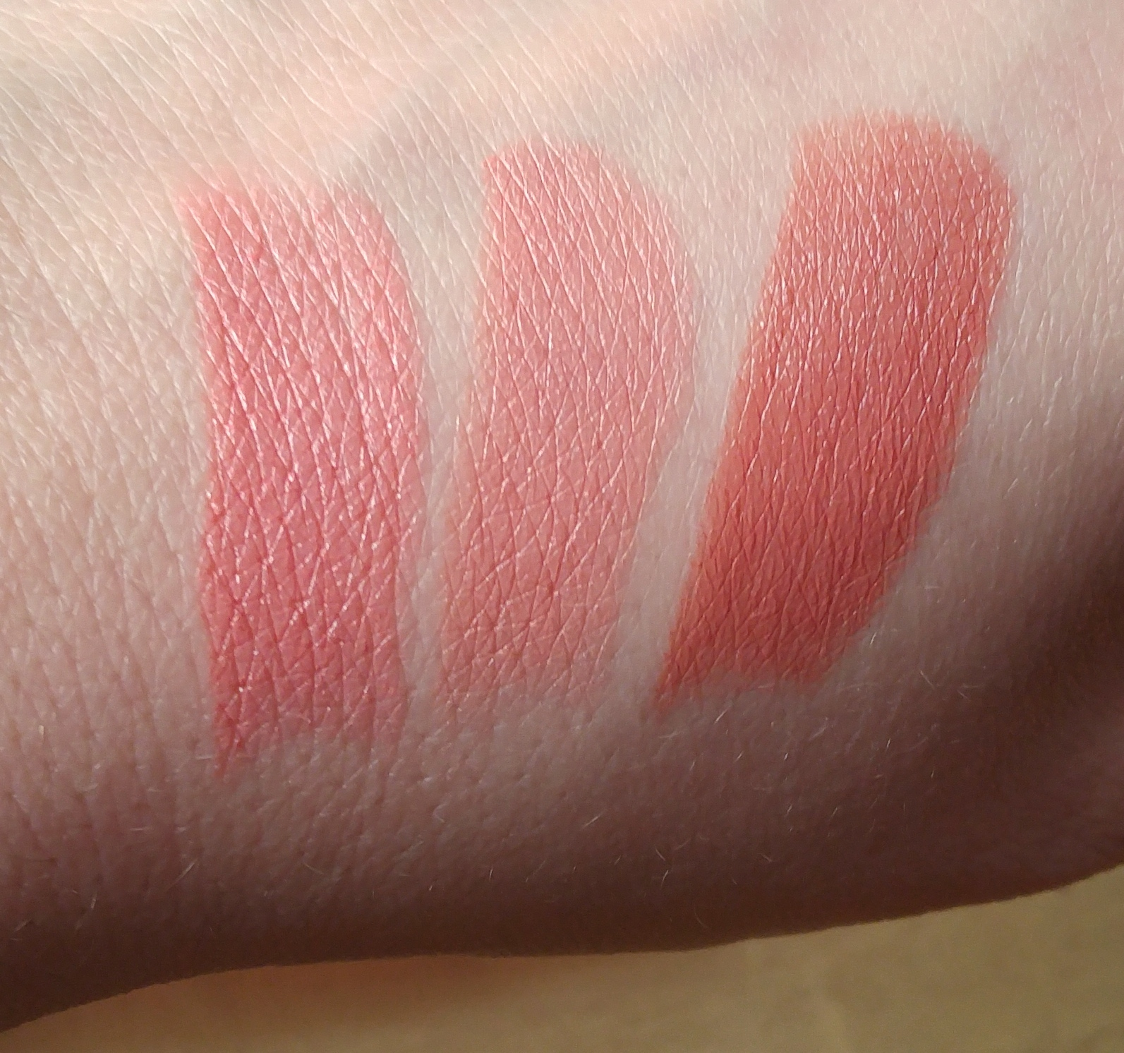 bareMinerals Lipstick Swatches Modern Pop