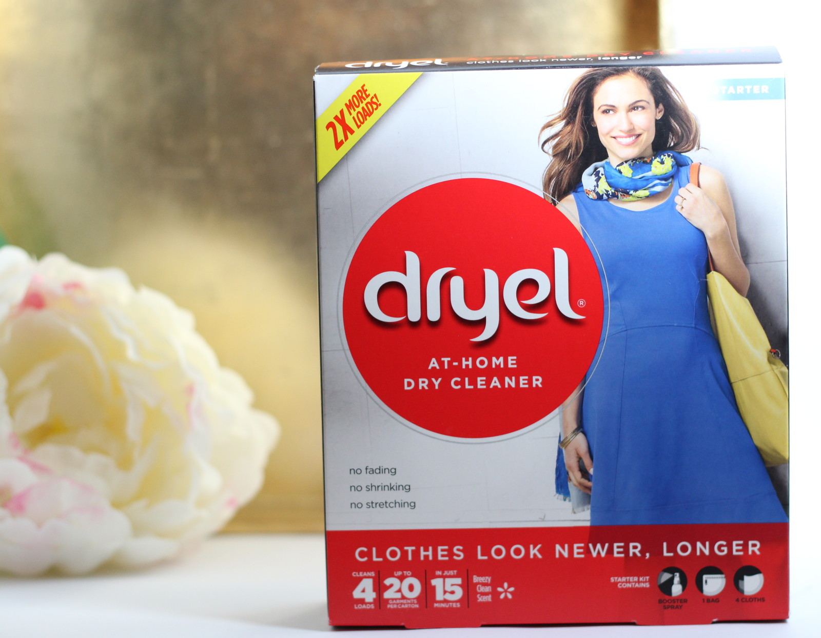 At-Home Dry Cleaning with Dryel