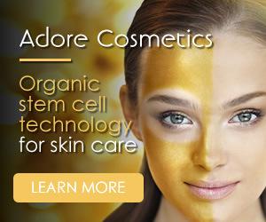 adore cosmetics organic skincare
