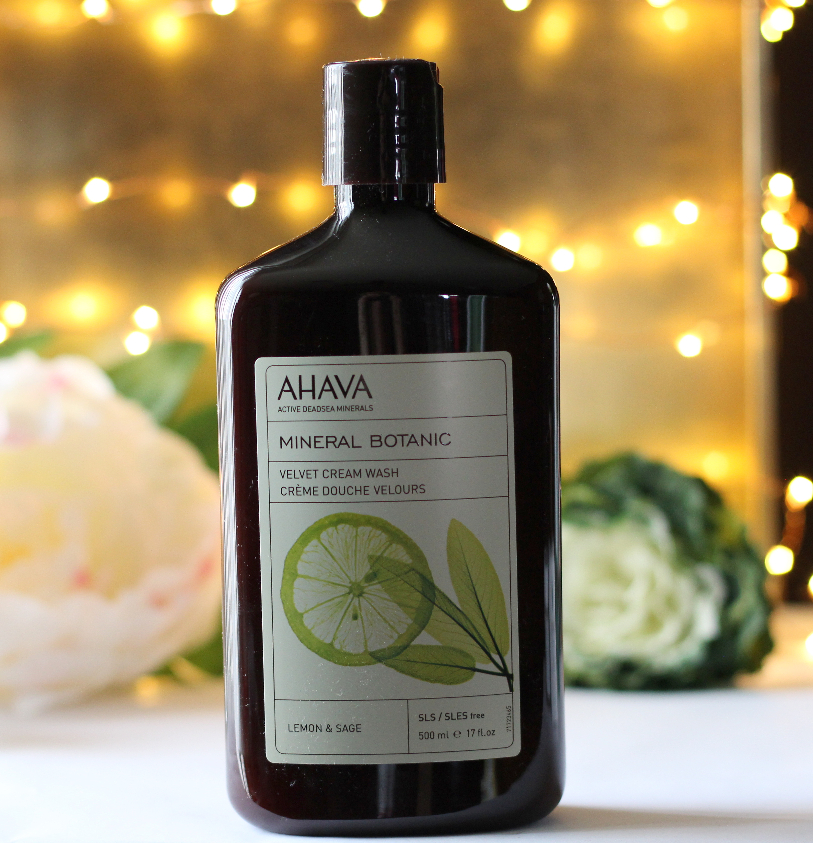 Ahava Lemon Sage Cream Wash