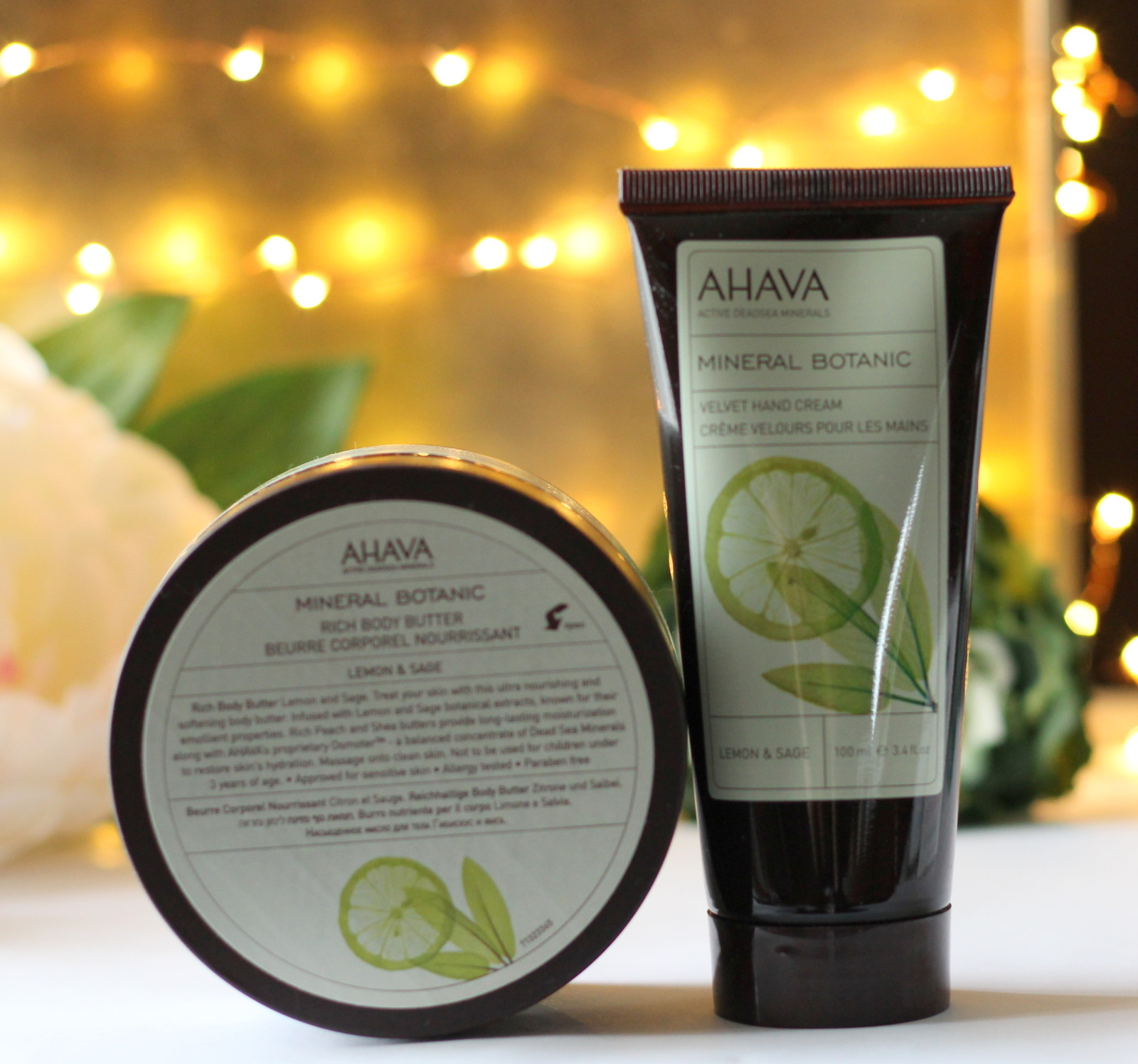 Ahava Lemon Sage Body Butter Review