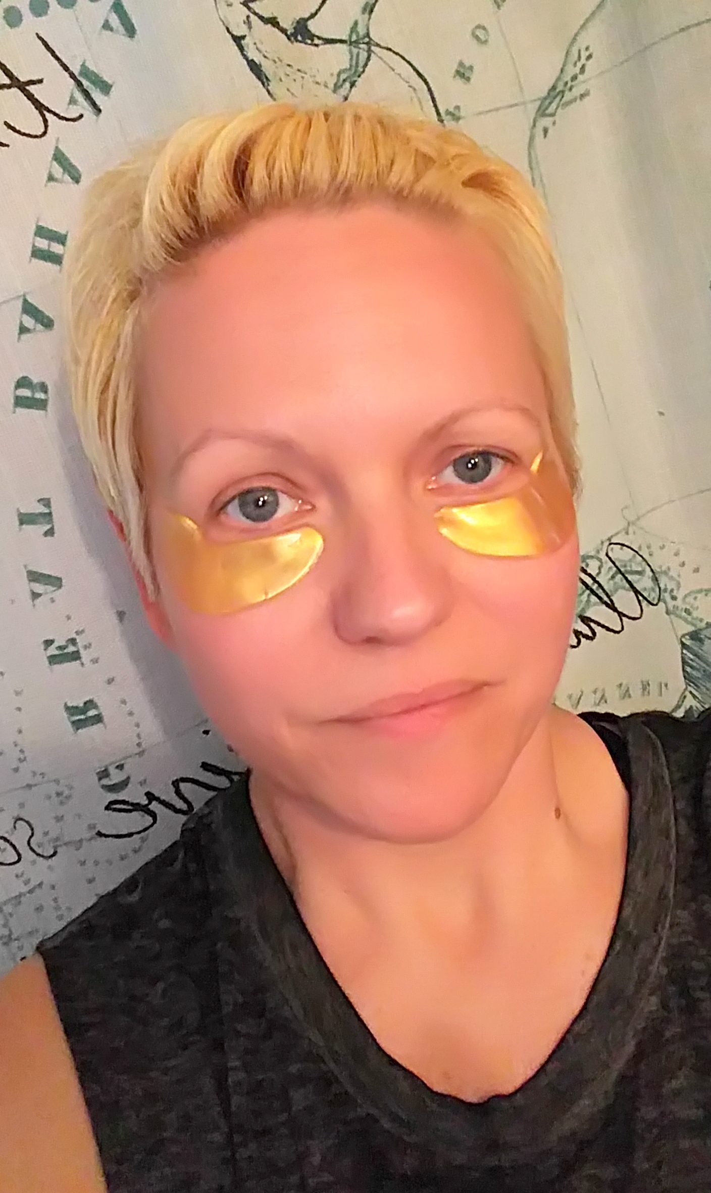 How to US 24k Gold Stem Cell Eye Mask