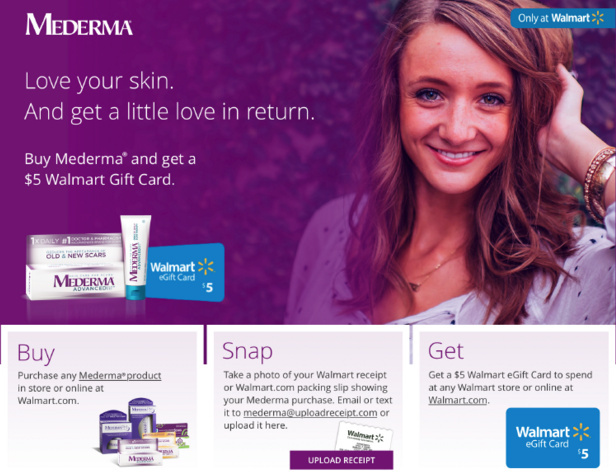 Mederma at Walmart – Buy, Snap, Get