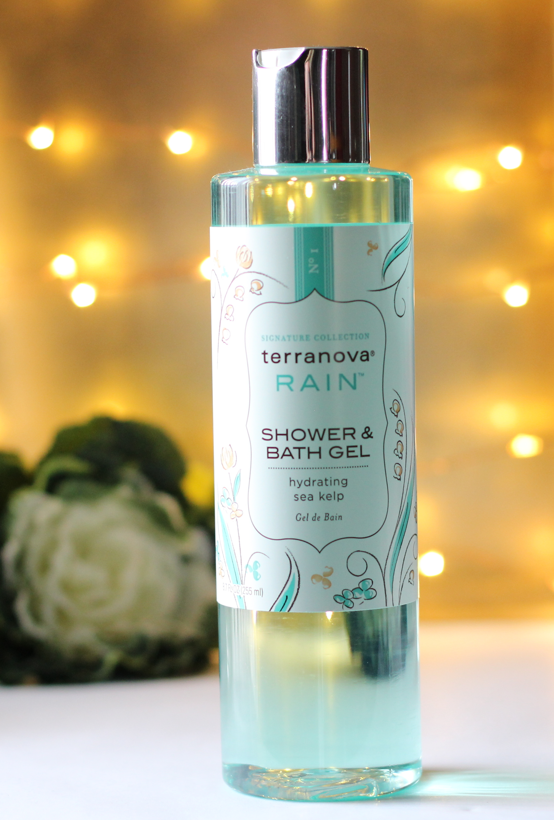 Terranova Rain Shower & Bath Gel for Earth Day