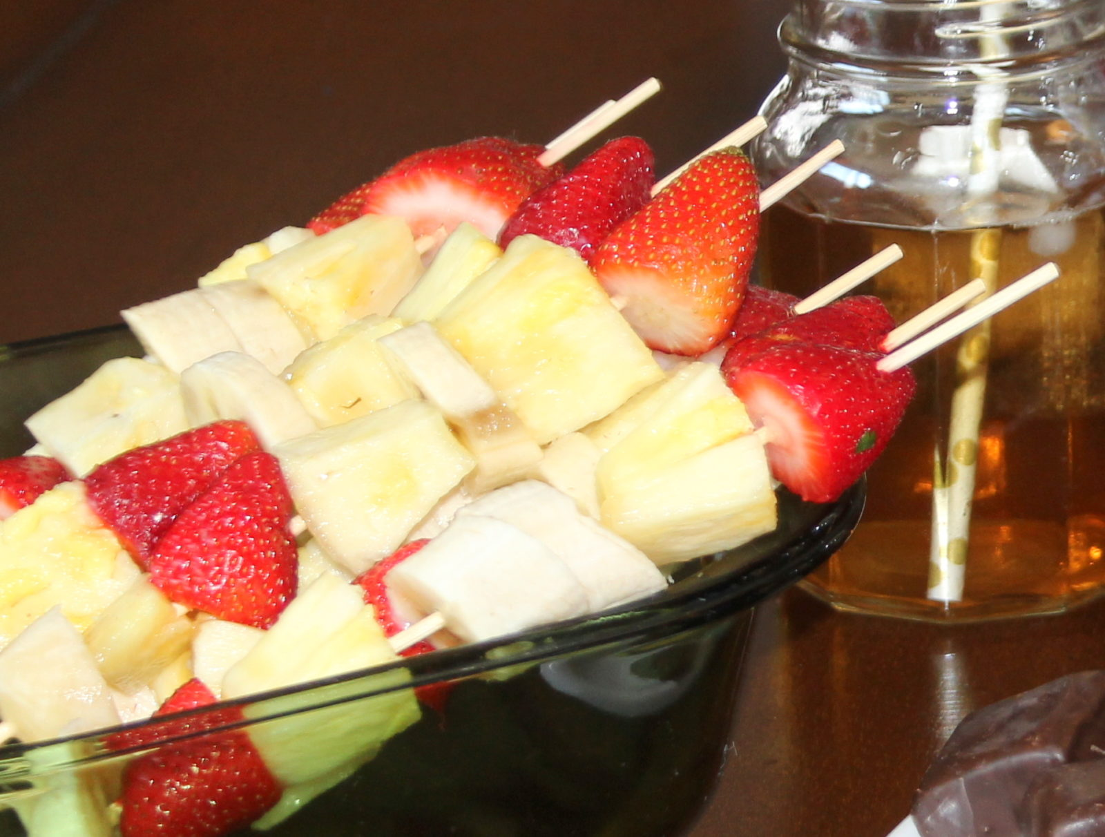 Easy Fruit on a Stick