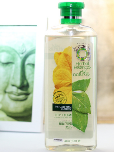 Herbal Essences Wild Naturals Detoxifying Shampoo with Thai Lemon Basil