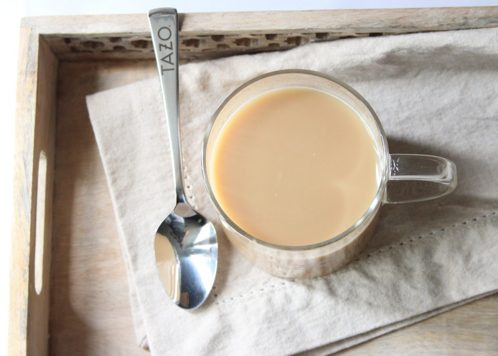 Relax with TAZO Chai