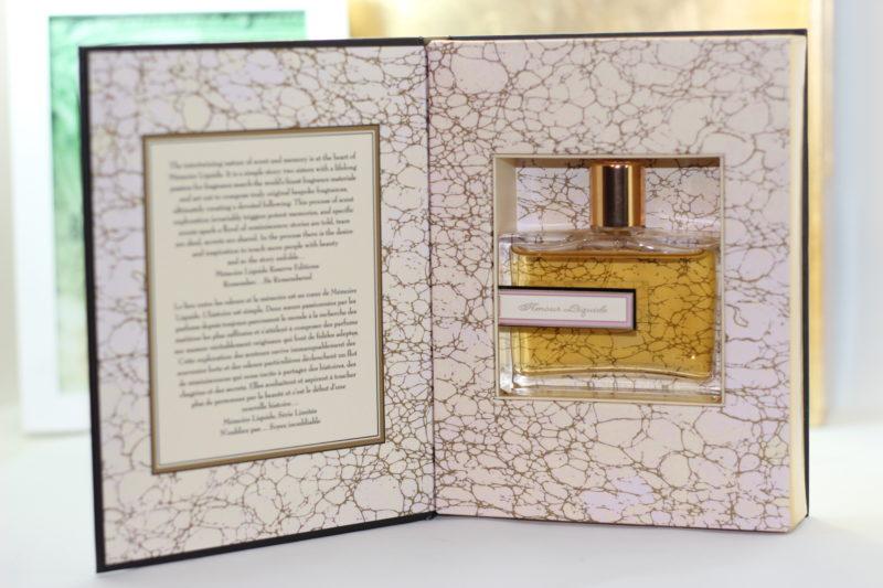 Memoire Liquide Reserve Edition – Amour Liquide Eau de Parfum