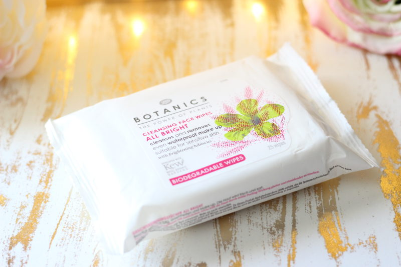 Boots Botanics All Bright Cleansing Face Wipes