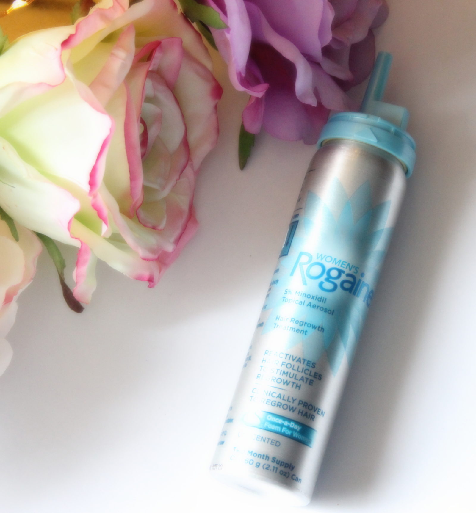 How to Use Women's Rogaine Foam for Thin Hair