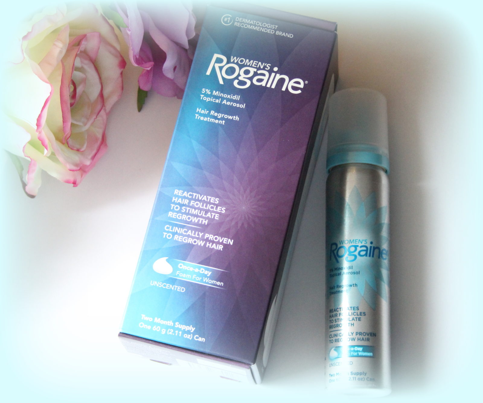 Using Women's Rogaine Foam