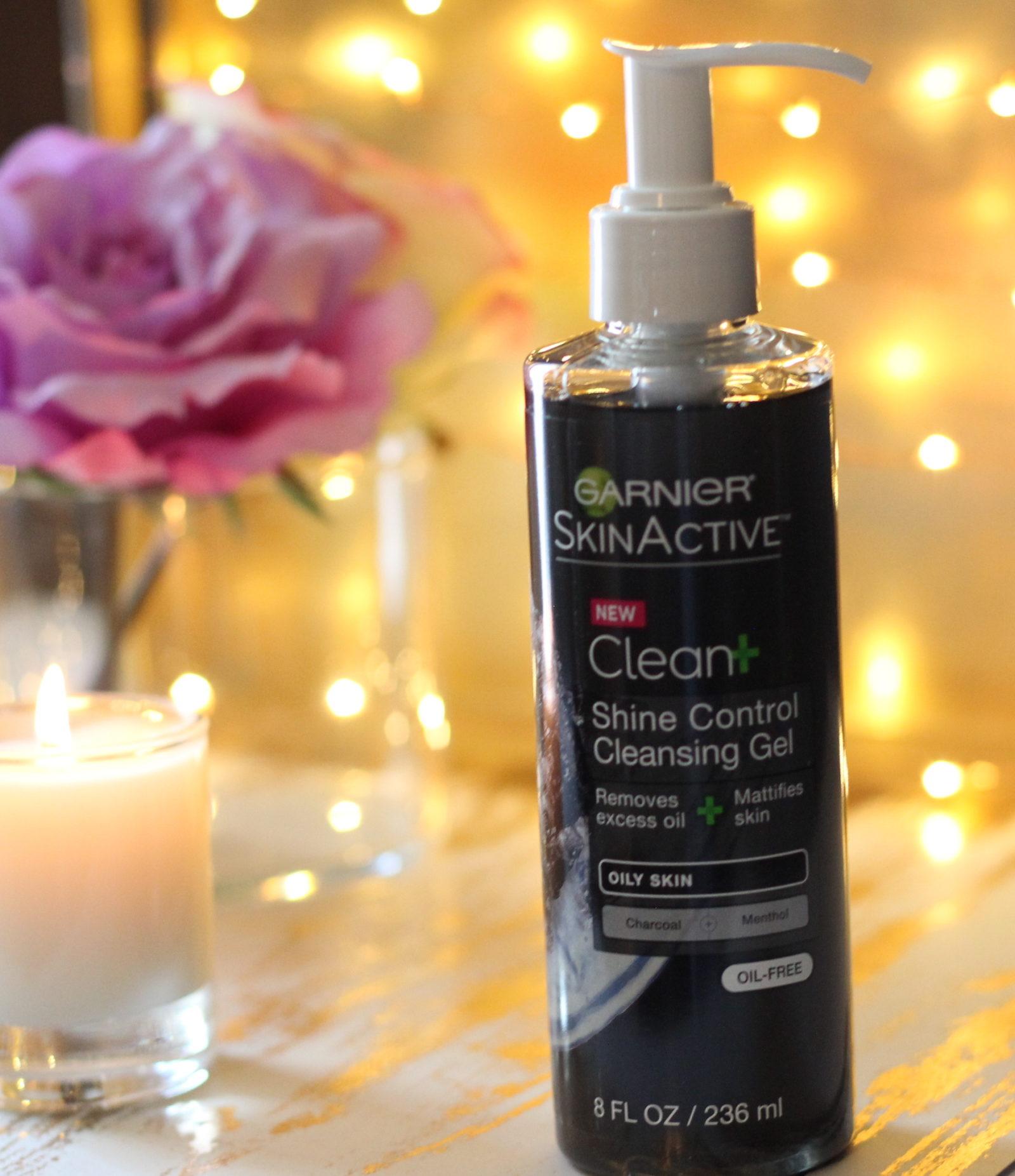 Garnier SkinActive Clean+ Shine Control Cleansing Gel