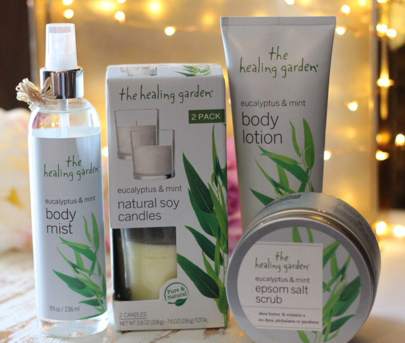 The Healing Garden Eucalyptus & Mint Collection