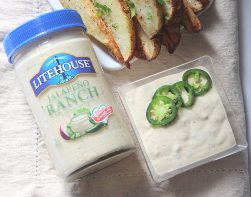 Easy Jalapeno Ranch Potato Wedges