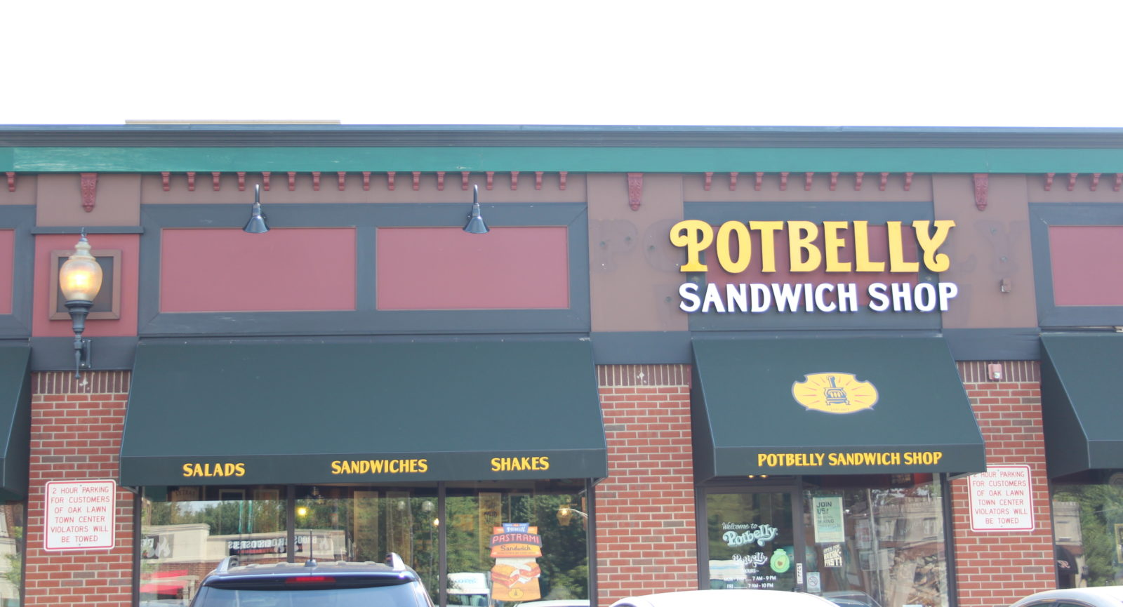 Lunch at Potbelly Sandwich Shop