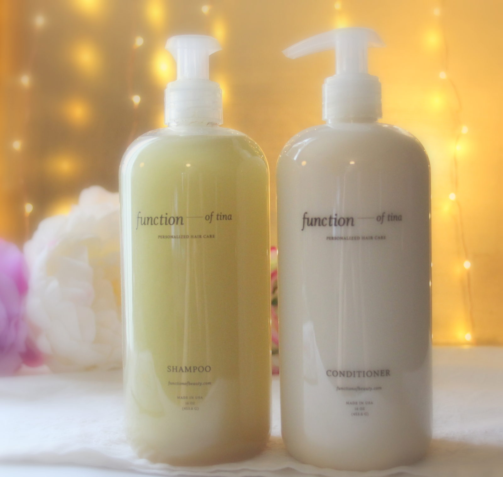 Function of Beauty – Personalized Shampoo and Conditioner