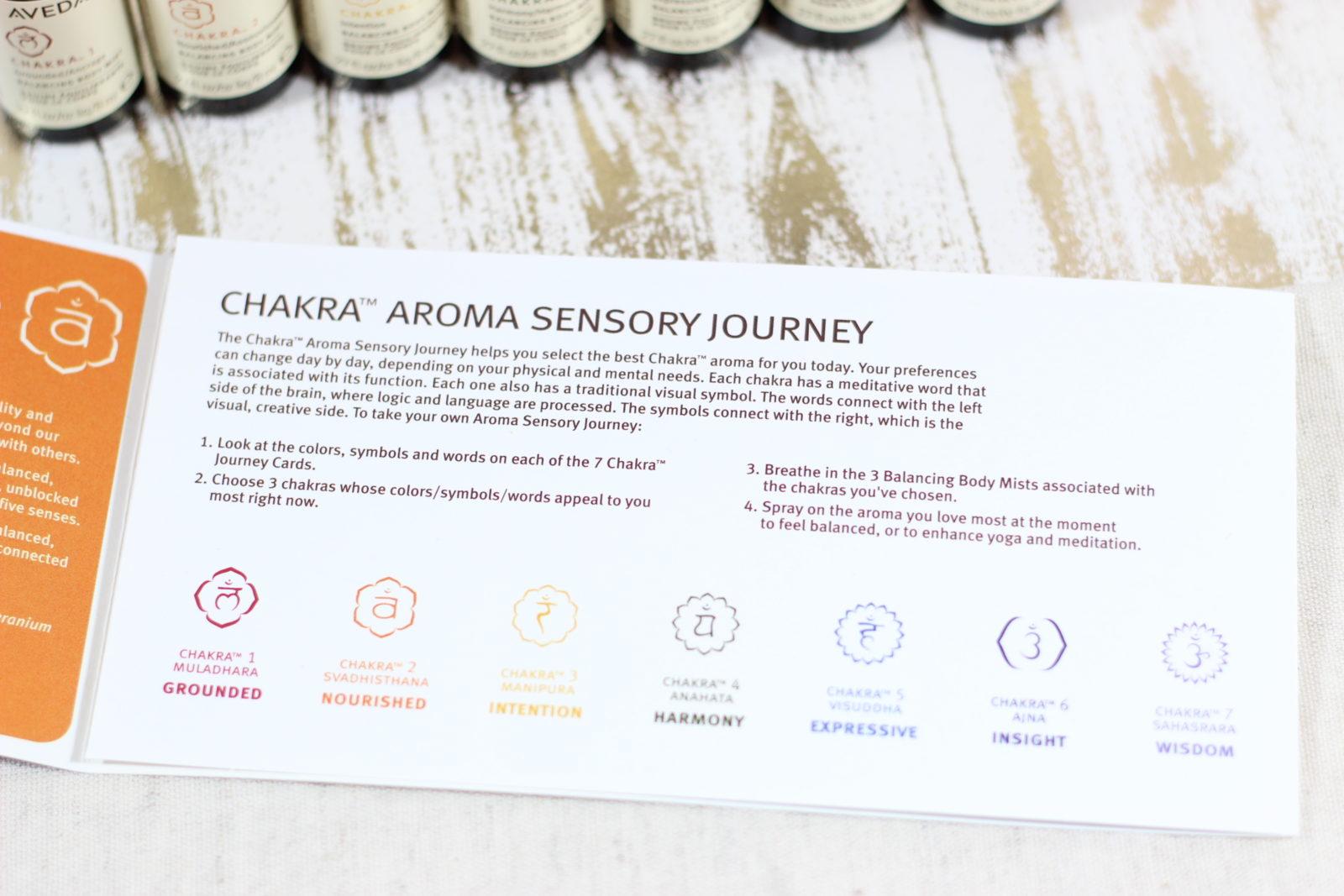 Chakra Aroma Sensory Journey