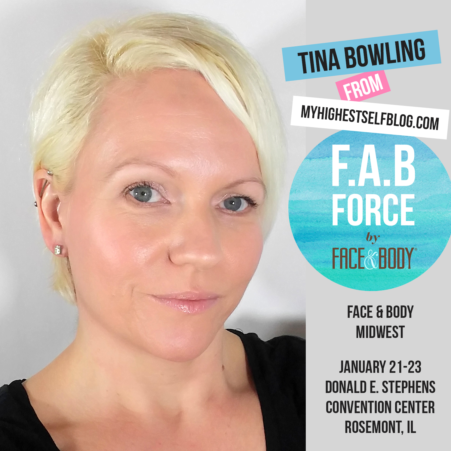 Announcement: I'm the Trend Reporter for Face & Body Midwest!