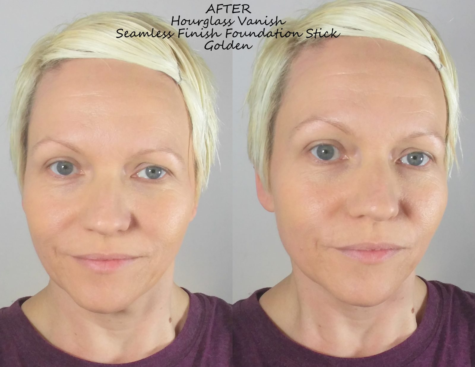 Hourglass Vanish Stick Foundation Before After Photos