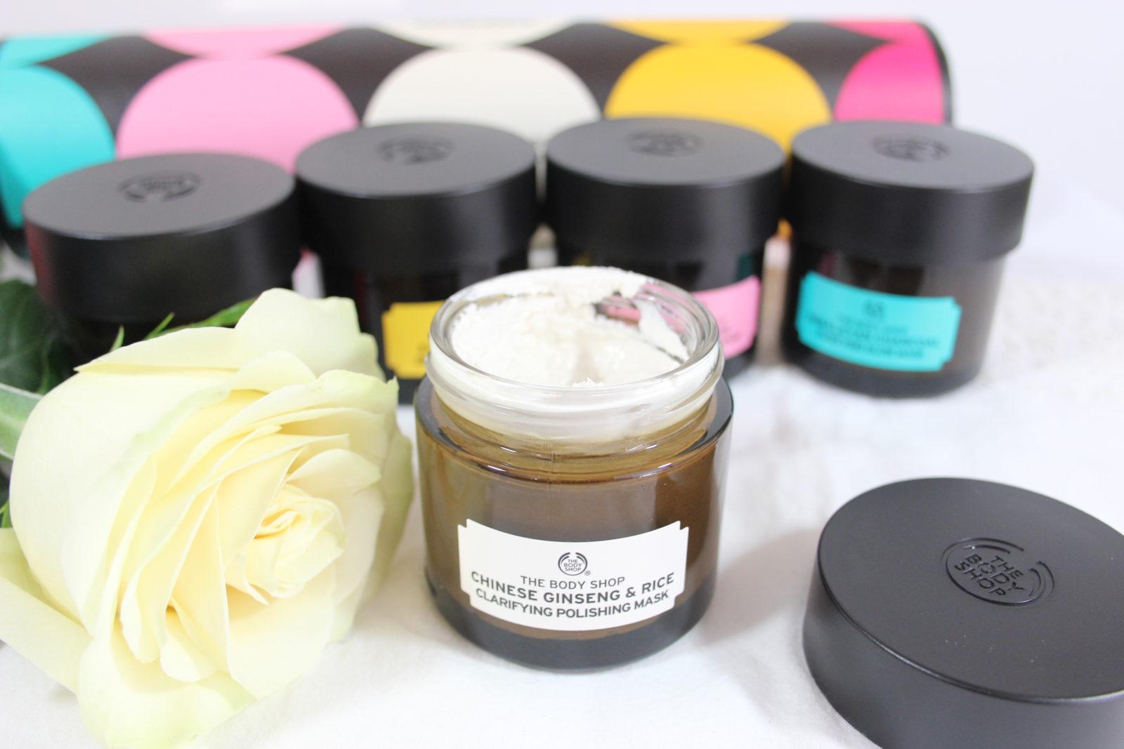 The Body Shop Chinese Ginseng Rice Clarifying Polishing Mask