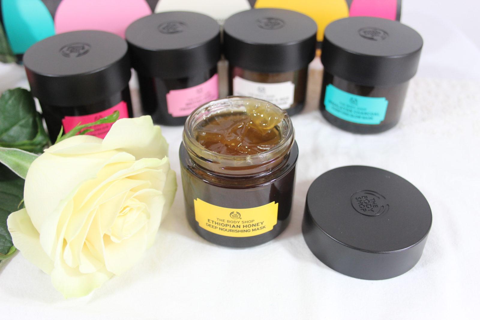 The Body Shop Ethiopian Honey Facial Mask