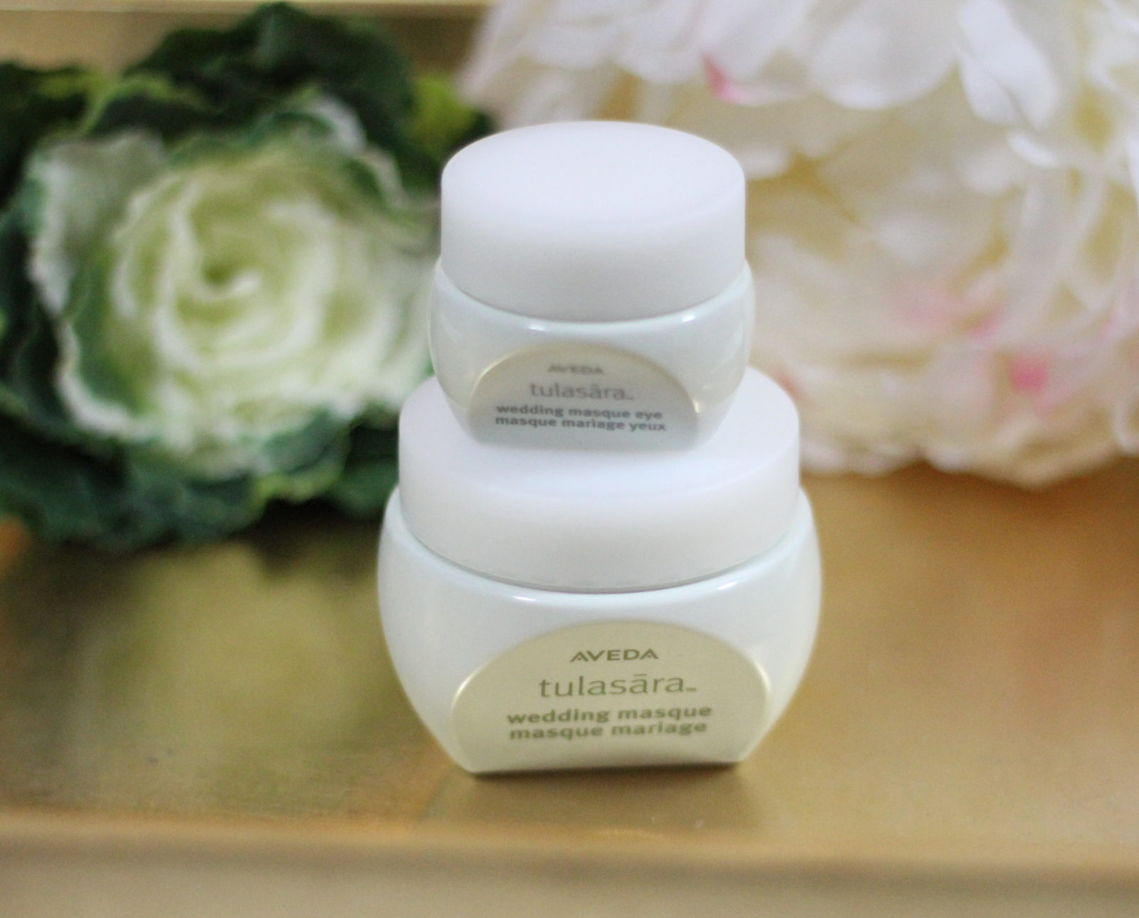 Aveda Tulasara Wedding Masque and Wedding Masque Eye