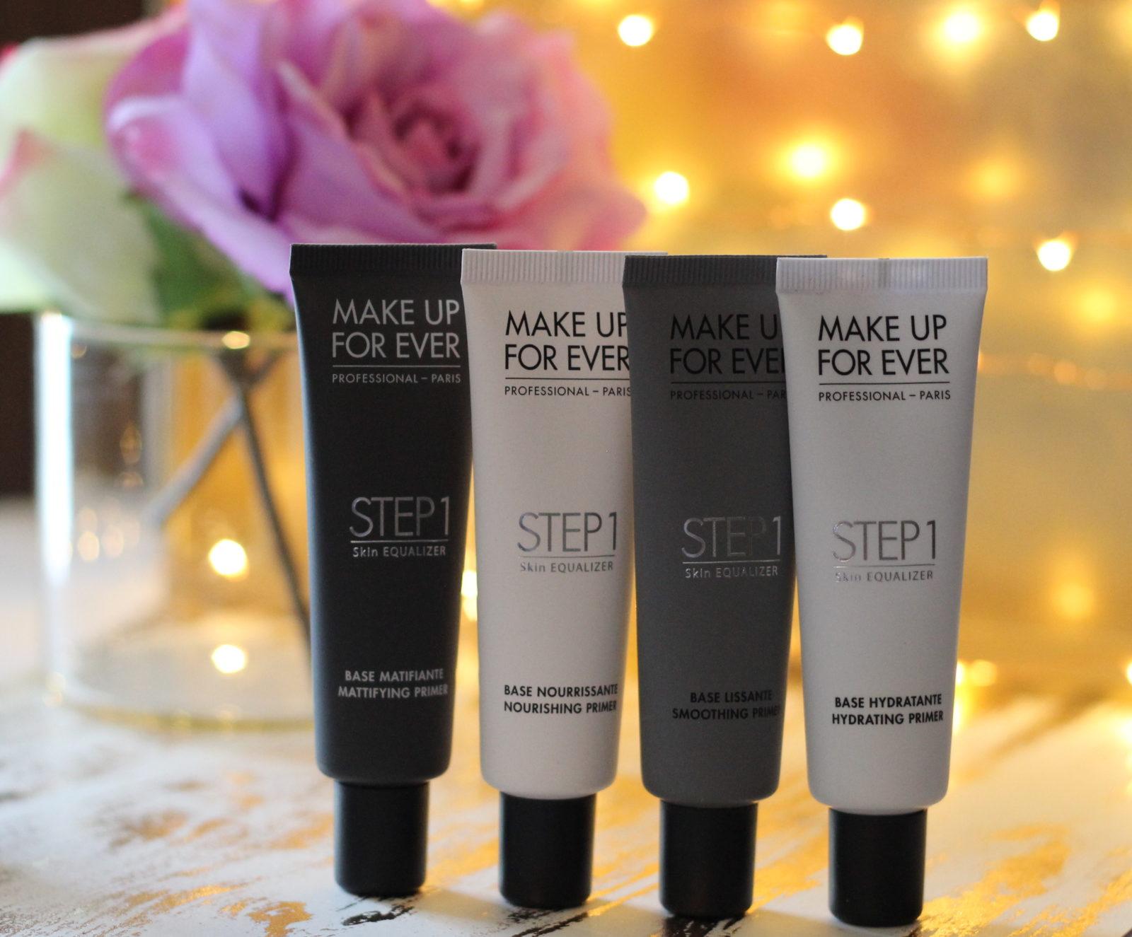 Makeup Forever Step 1 Primers