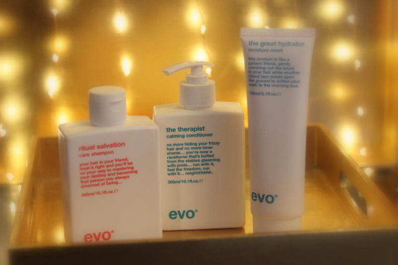 Pamper Your Hair with evo