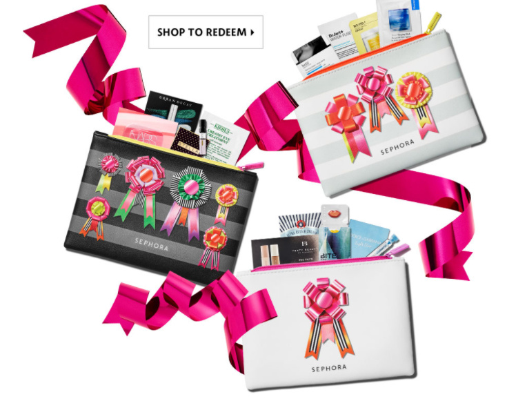 FREE Festive Makeup Bag of Samples at Sephora.com