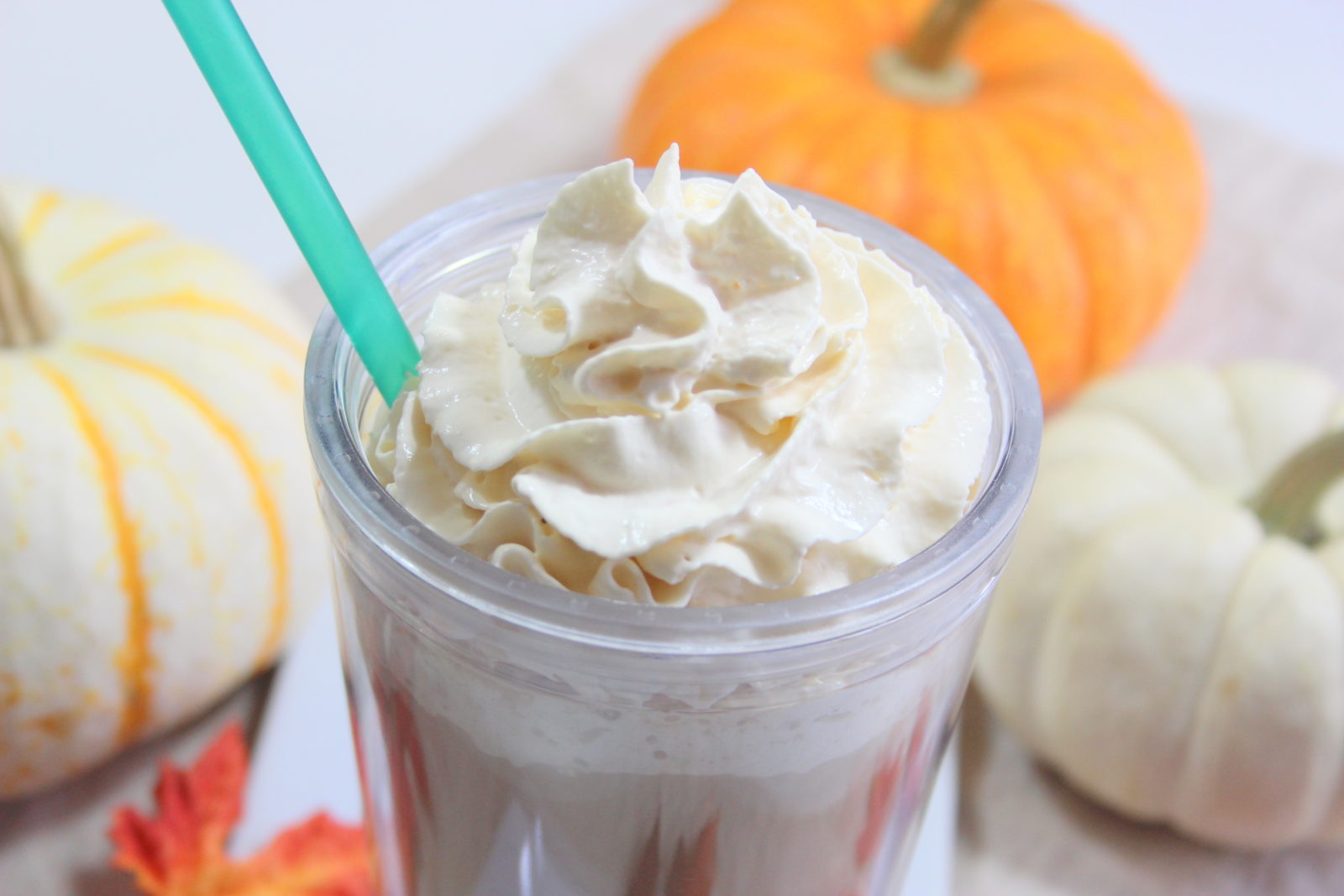 How to make Iced Pumpkin Spice Latte